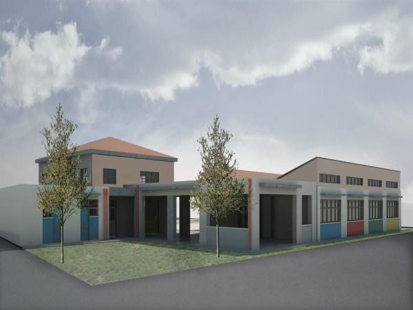 Anifi primary school expansion in Nafplio