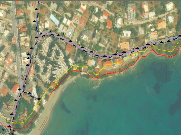 Sewer network reconstruction in Poros